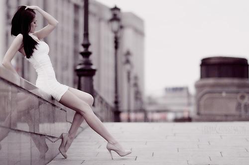 Именно...  Итак, самые прекрасные в мире женщины живут в Киеве.